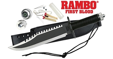 Rambo First Blood Survivalmesser und Sammlermesser